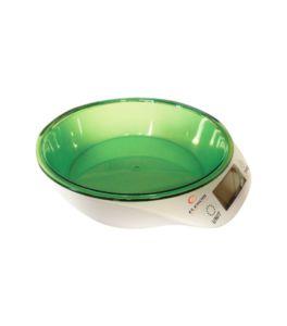 Кухненски кантар Elekom EK-967, Капацитет 5 кг, Автоматично зануляване и изключване